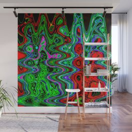 Groovy Trees Wall Mural