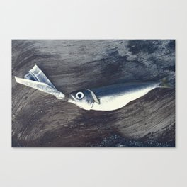 At the Bottom of the Sea Canvas Print