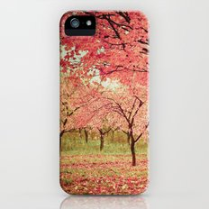 Wind and Leaves Slim Case iPhone (5, 5s)