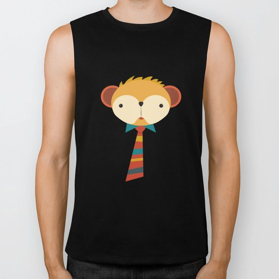 Business Monkey Biker Tank