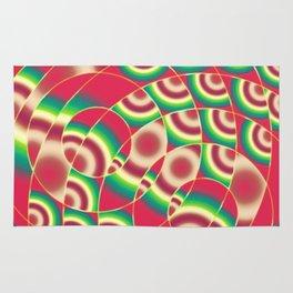 Abstract circular gradients Rug