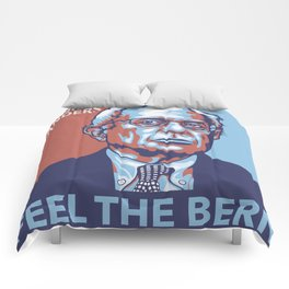 Feel the Bern Comforters