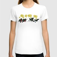 politics T-shirts featuring Bird Politics by Aimee Cozza