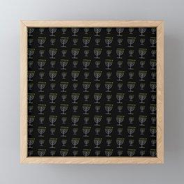 Menorah 22 Framed Mini Art Print