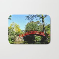 Red Bridge Bath Mat