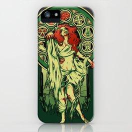 Zombie Nouveau iPhone Case
