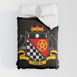 Cabot Tradition Crest (black) Comforters