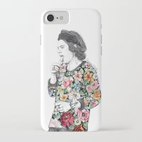 coconutwishes iPhone & iPod Cases featuring Harry  sketch  by Coconut Wishes