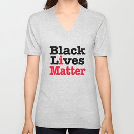 BLACK LIVES MATTER Unisex V-Neck