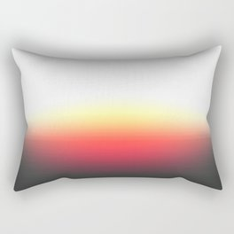 Sunset Ombre Rectangular Pillow