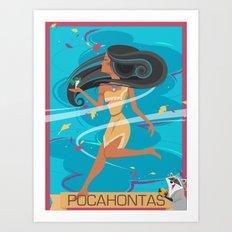 Pocahontas Art Print