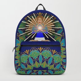 Divine Spark Mandala Backpack