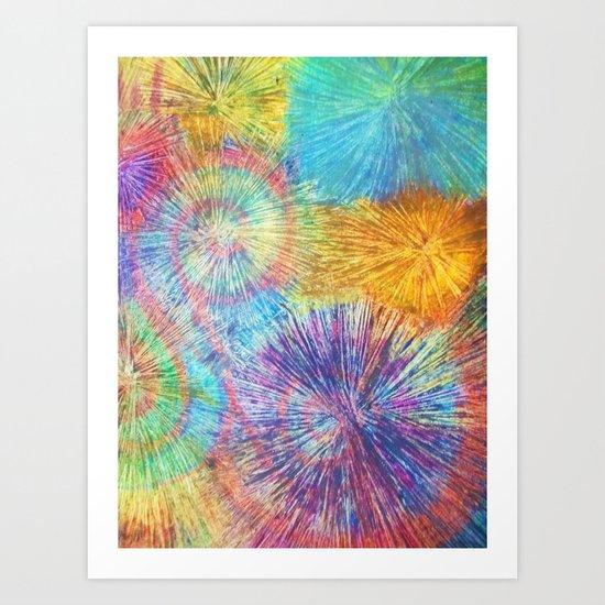 Color Pencil Love Art Print