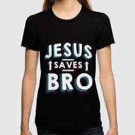 Jesus saves brother T-shirt