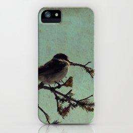 Lone bird iPhone Case
