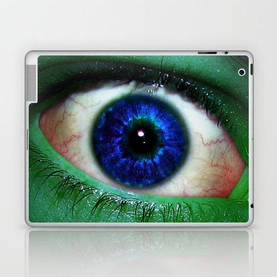 The Hulk is watching you Laptop & iPad Skin