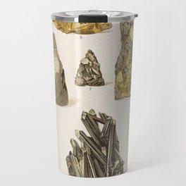 Vintage Gold Minerals Travel Mug