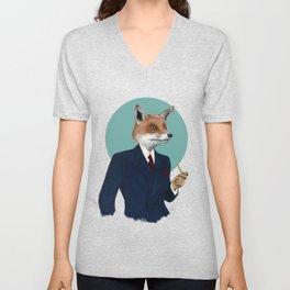 Mister Fox Unisex V-Neck