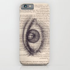 Eye in a Book iPhone 6s Slim Case