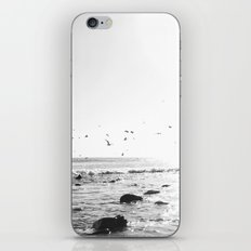 black and white big sur iPhone & iPod Skin