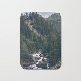 Into the Mountains Bath Mat