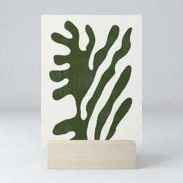Alga, Seaweed, Green Plant Mini Art Print