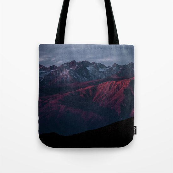 Mountain Landscape #sunset Tote Bag