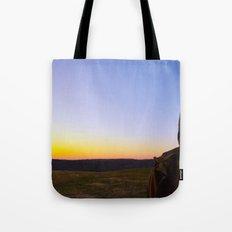 Facing Dawn Tote Bag