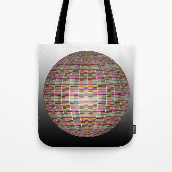 Colorful 3D Ball Tote Bag