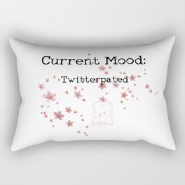 Current Mood: Twitterpated Rectangular Pillow
