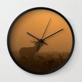Richmond Park - 54, October 2015 Wall Clock