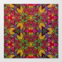 escher Canvas Prints featuring Escher Tile by RingWaveArt