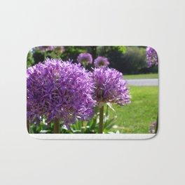 Purple Allium Giganteum Bath Mat