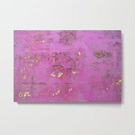 Purple Wall Metal Print