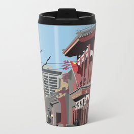 Beijing, China Cityscape Metal Travel Mug