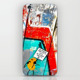 The Important Thing iPhone Skin