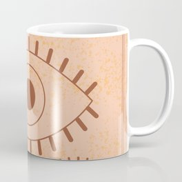 Retro Evil Eye II Coffee Mug