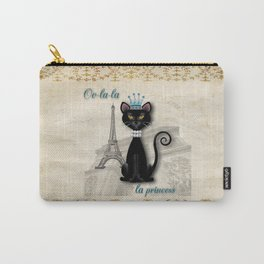 Oo-la-la, the French Princess Kitty Carry-All Pouch