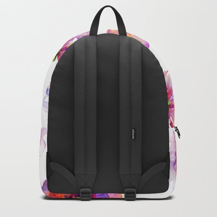 Delicate Floral Pattern 03 Backpack