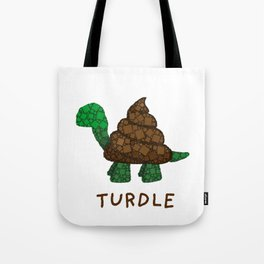 Turdle - Poop - Turtle - 57 Montgomery Art Tote Bag