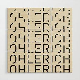 Ohlerich Speicher Transformation Wood Wall Art