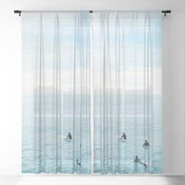 Flat Ocean Sheer Curtain