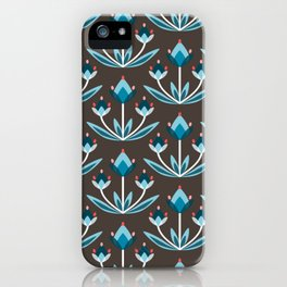 Daily pattern: Retro Flower No.10 iPhone Case