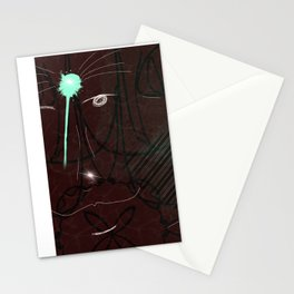 shoted maroons Stationery Cards