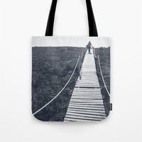 adventure Tote Bags featuring Adventure by Light Wanderer Art & Photography