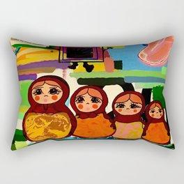 Babushka Rectangular Pillow