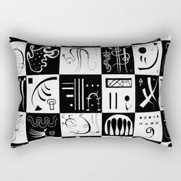 Wassily Kandinsky Thirty Rectangular Pillow