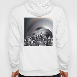 Complexity under smooth simplicity - Abstract play with focus Hoody