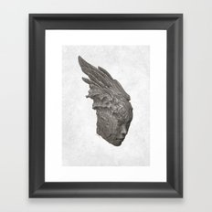 Stone Angel Framed Art Print