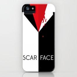 Scarface Minimalist Movie Poster iPhone Case